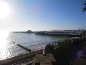Clacton Pier was built for tourist to arrive in Clacton by boat