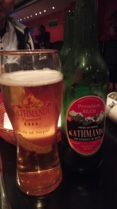 Try some of the Nepalese beers on offer