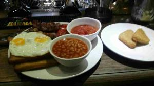 Full English Breakfast - delicious!